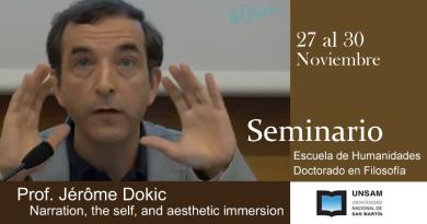 Seminario del Prof. Jérôme Dokic
